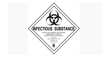 Infectious Substance Sign