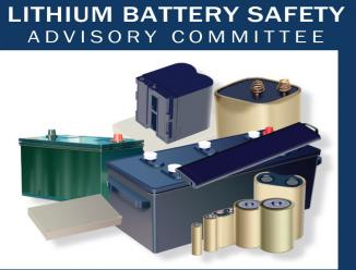 Lithium Battery Safety Advisory Committee Carousel Image